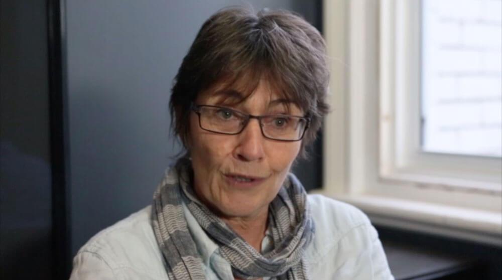 Producer Sue Taylor